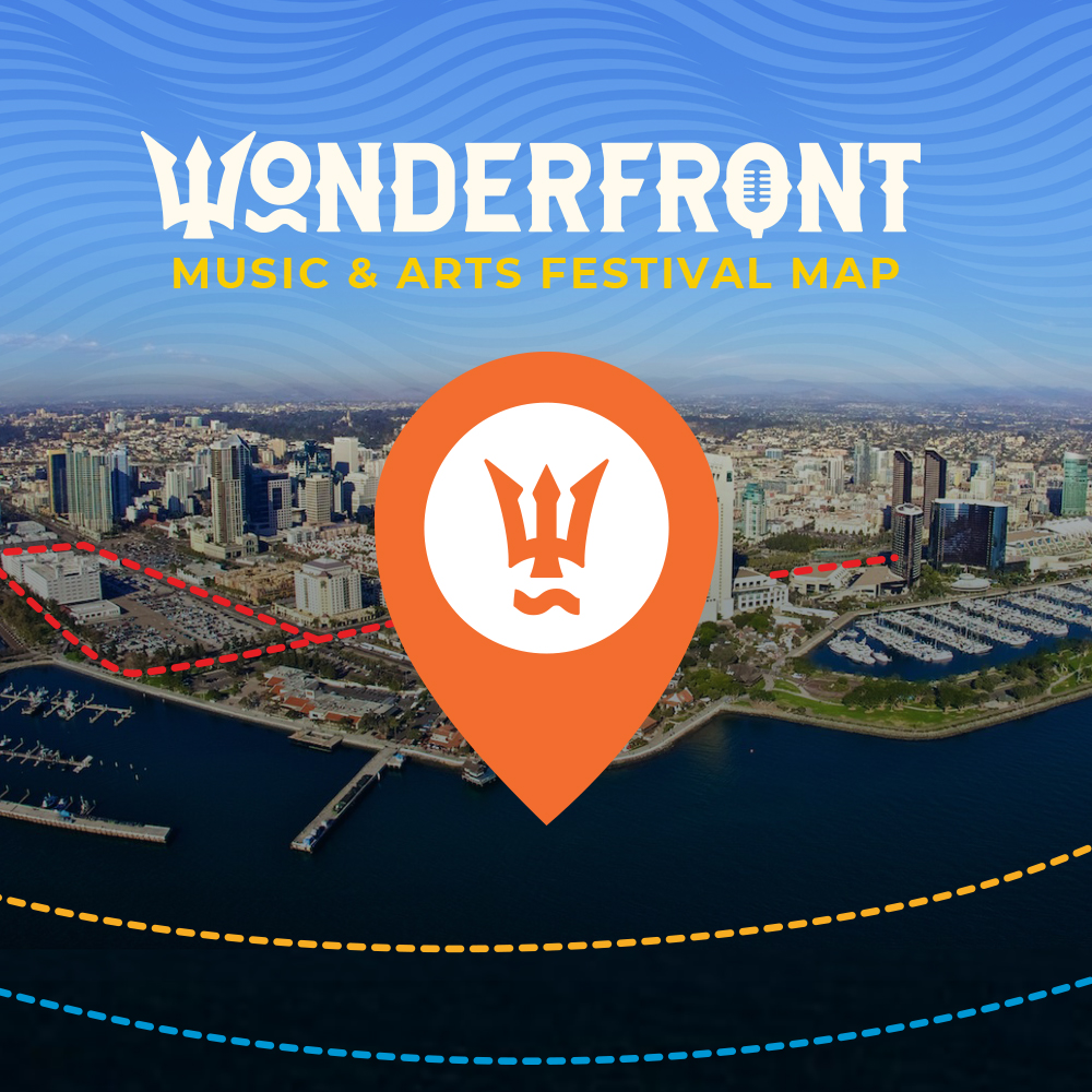 Wonderfront Festival Map